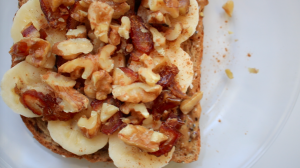 Banana Walnut Toast